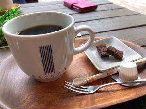 オリジナルブレンドコーヒーとショコラ